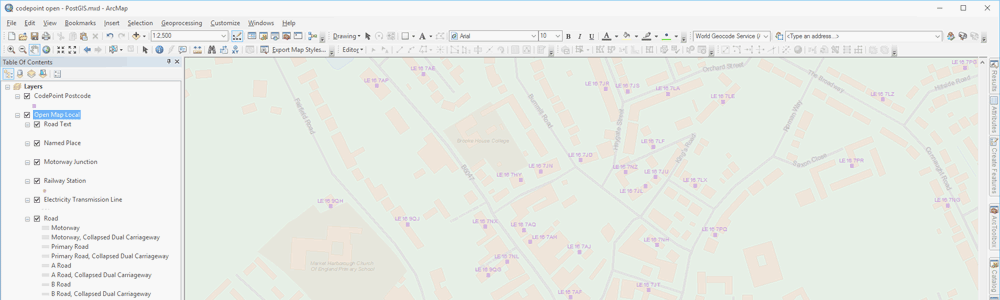GIS Desktop Application