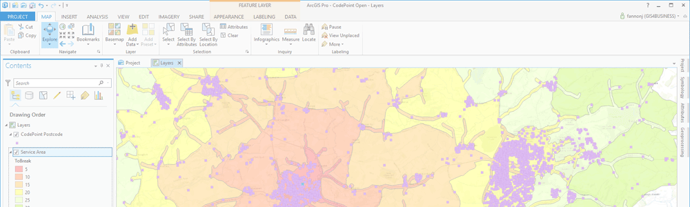 Desktop GIS Application